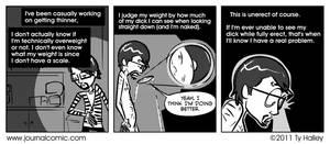 Journal Comic - Body Mass In Dicks