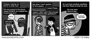 Journal Comic - Lost Hat Puzzle