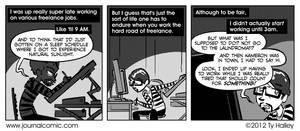 Journal Comic - It's A Hard Knock Lie