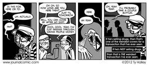 Journal Comic - Smells Suspicious