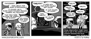 Journal Comic - Eff That Word