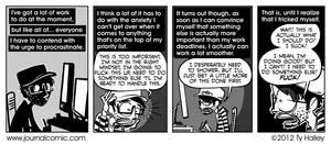 Journal Comic - Work Around