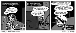 Journal Comic - Losing Face