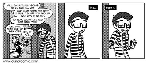 Journal Comic - Just A Patsy by tyhalley