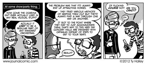 Journal Comic - Ocarina of Lying by tyhalley