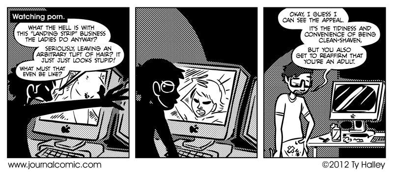 Journal Comic - Landing Tests