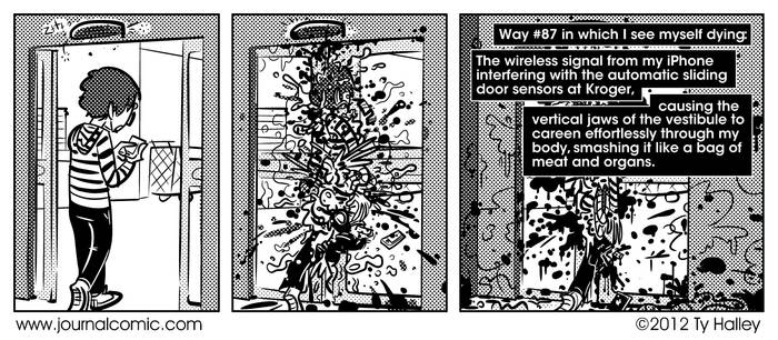 Journal Comic - My Death #87