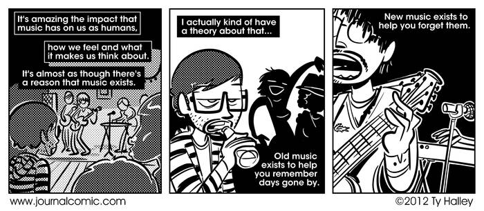 Journal Comic - Music Theory