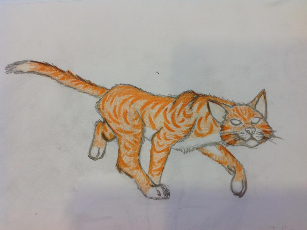Herobrine Kitty by RainbowGuppy1