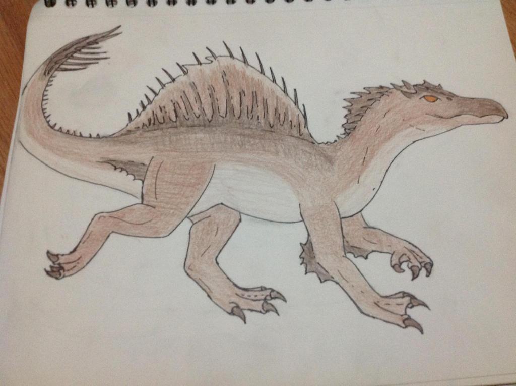 Shadetooth the Spinosaurus by RainbowGuppy1