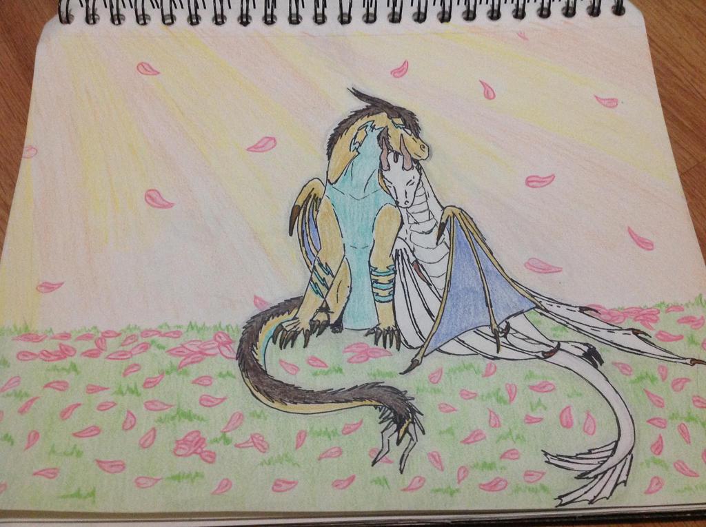 Srping Cuddles by RainbowGuppy1