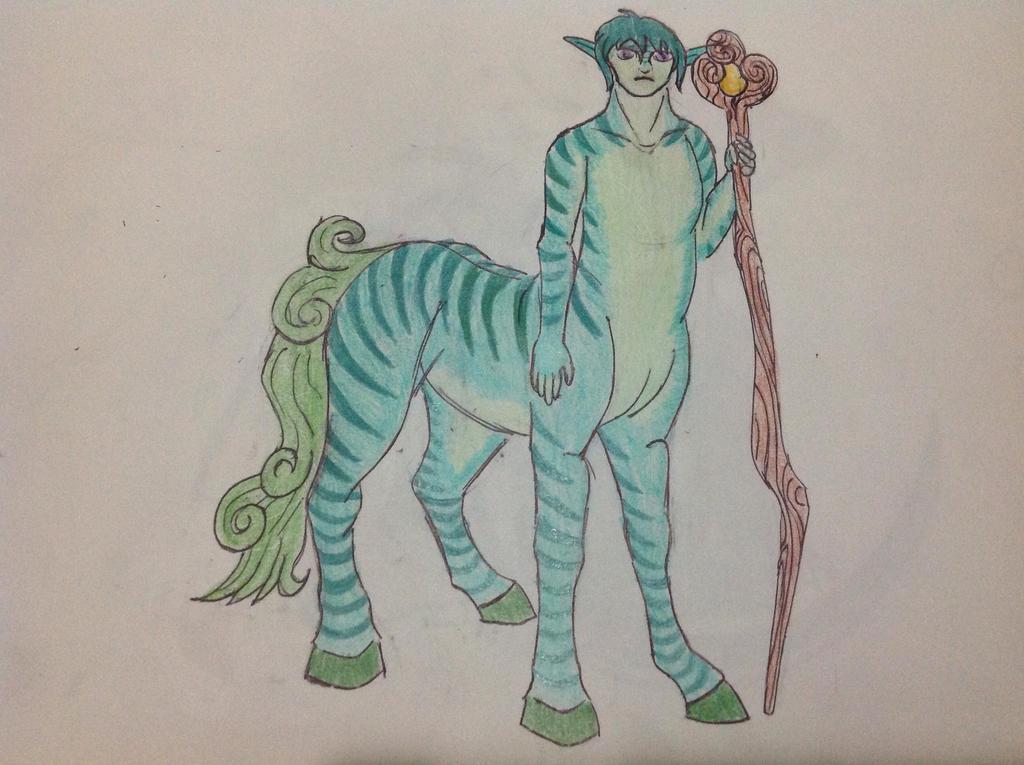 Centaur Guardian by RainbowGuppy1