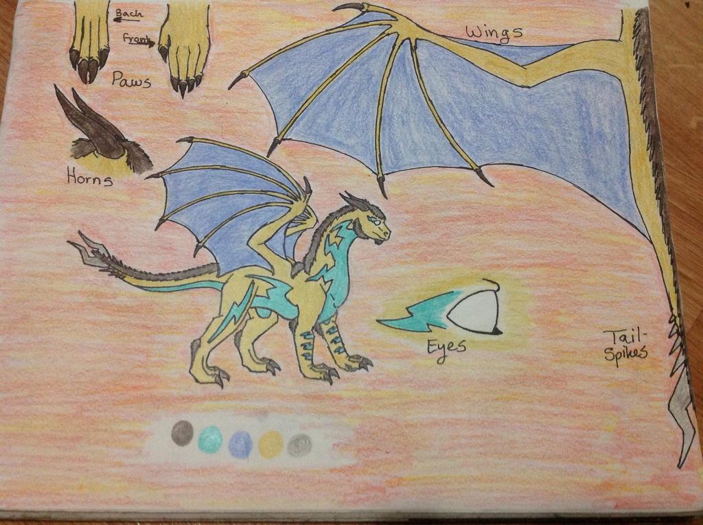 Herobrine Dragon Reference Sheet by RainbowGuppy1