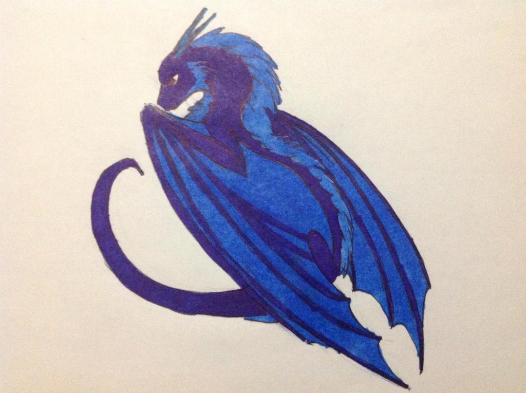 Pretty Dragon by RainbowGuppy1
