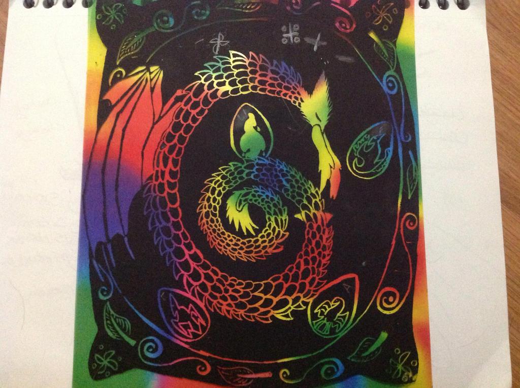 A C Dragon by RainbowGuppy1