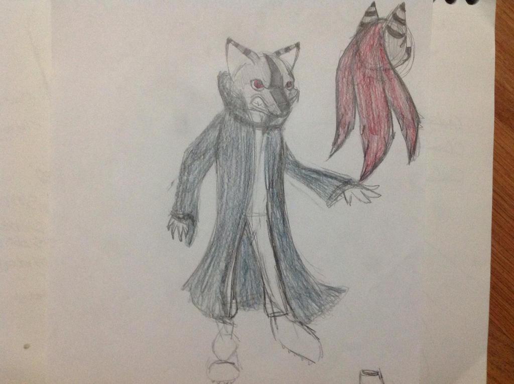 Wolf Human Thing by RainbowGuppy1