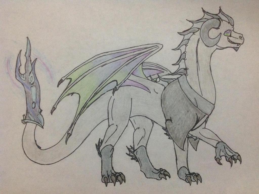 Brineary as a Dragon by RainbowGuppy1