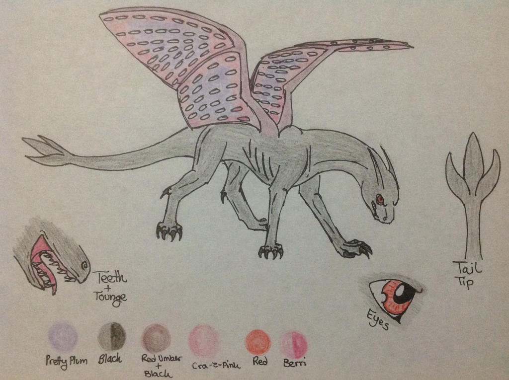 Klian's Reference Sheet by RainbowGuppy1