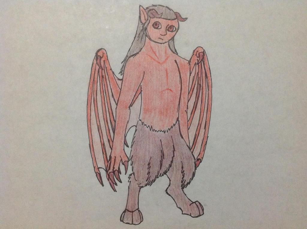 Chitton the Demon by RainbowGuppy1