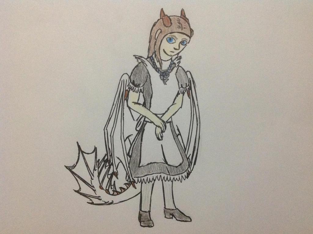 Maid Silverwind by RainbowGuppy1