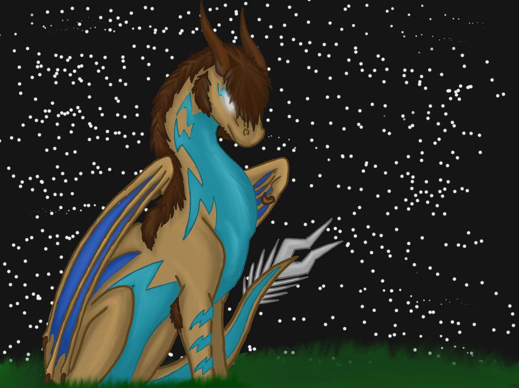Midnight Stargazing by RainbowGuppy1