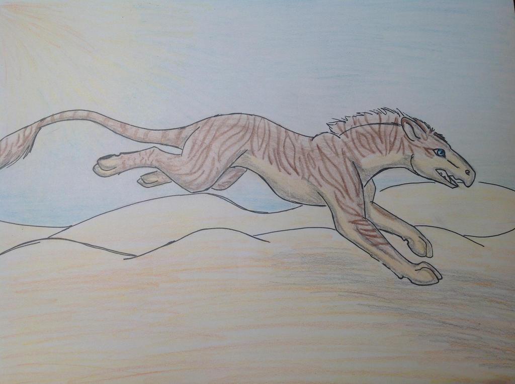 Desert Run by RainbowGuppy1