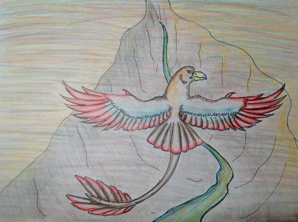 Canyon Flight by RainbowGuppy1