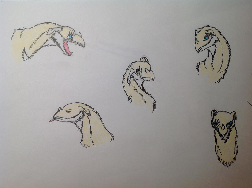 Sayo Practice Art 1 by RainbowGuppy1