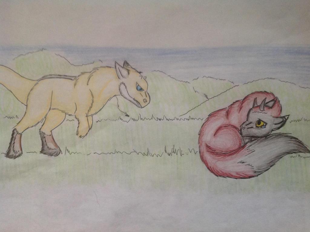 Fight by RainbowGuppy1