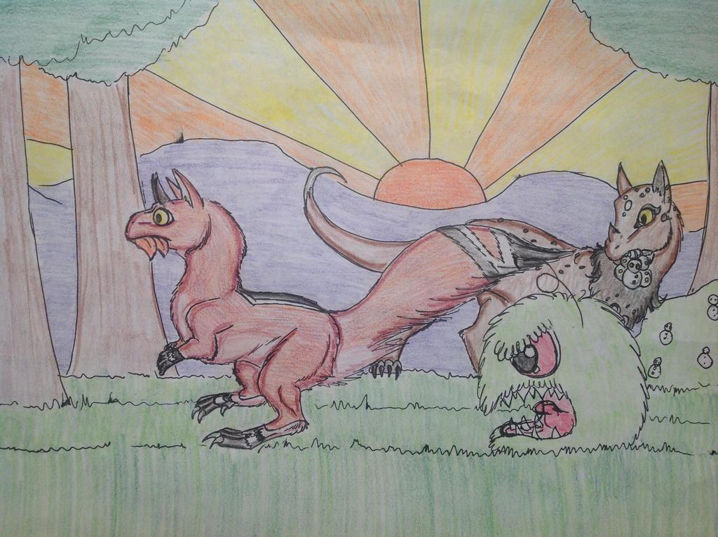 RUN AWAY by RainbowGuppy1