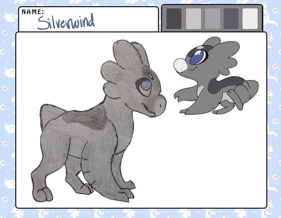 Silverwind by RainbowGuppy1