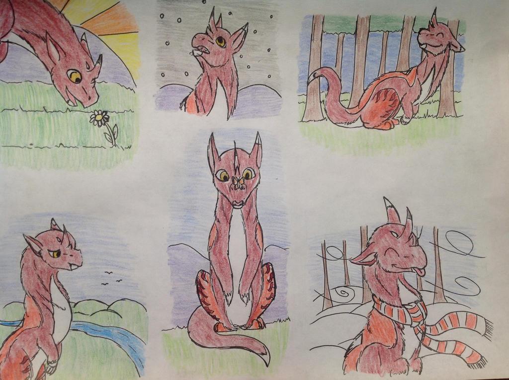 30 FP of Hen by RainbowGuppy1