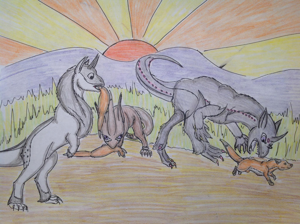 Come Here Stupid Fox by RainbowGuppy1