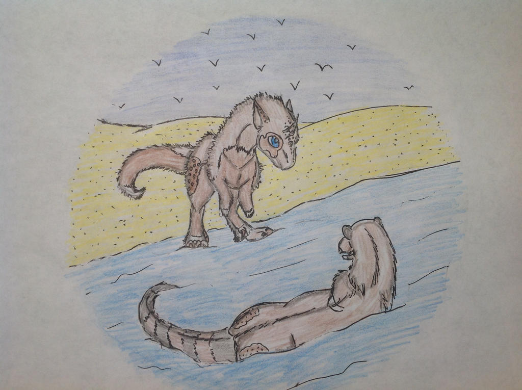 Swimming by RainbowGuppy1