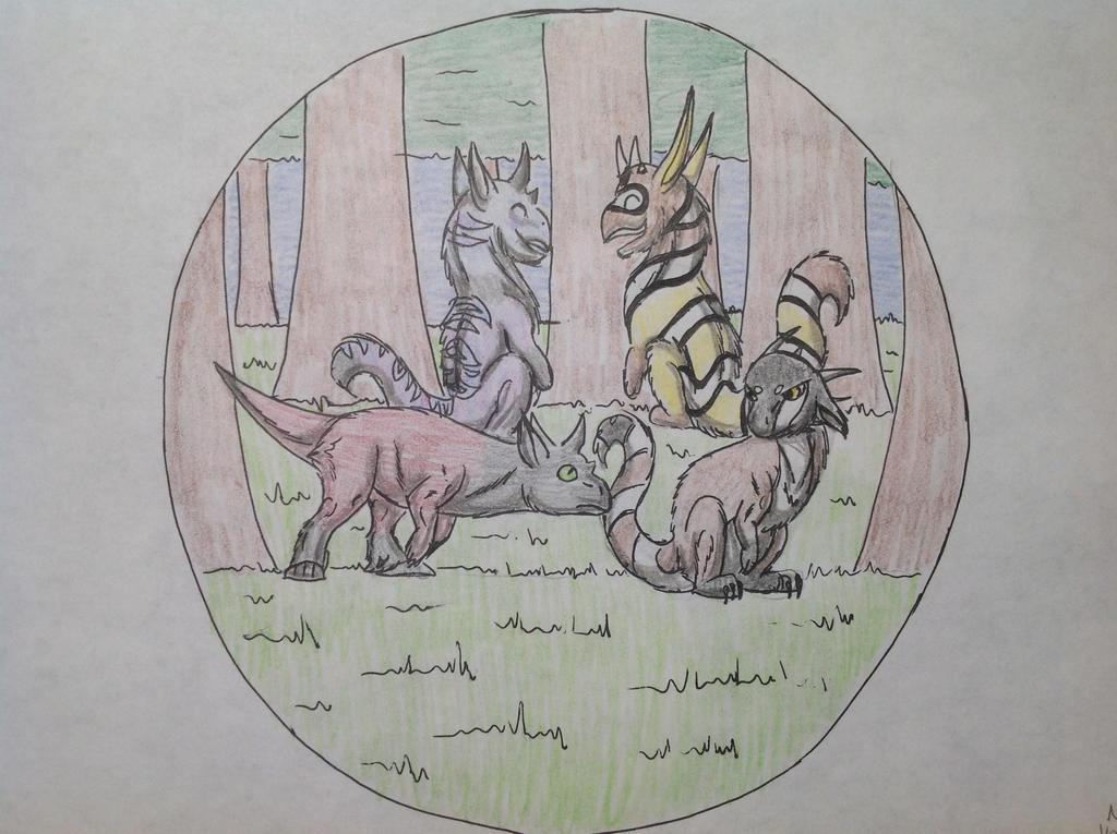 Wild Basic Trust Training Tier 14 by RainbowGuppy1