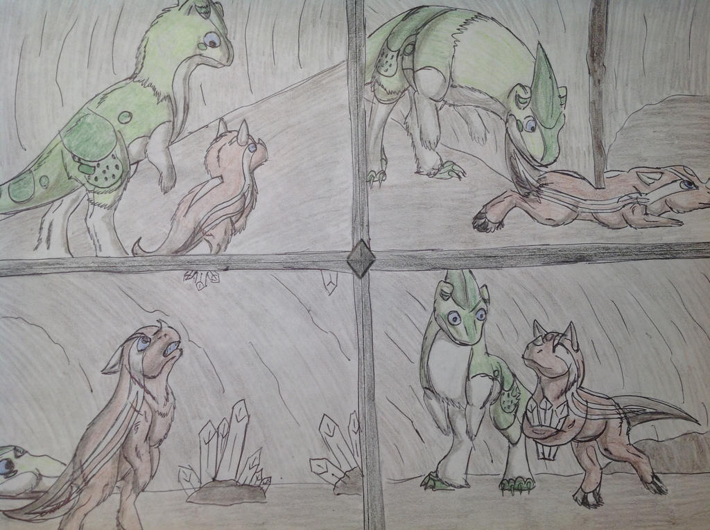Badger's Are Stubborn by RainbowGuppy1