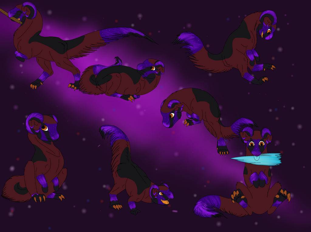 Figranaga In Space by RainbowGuppy1