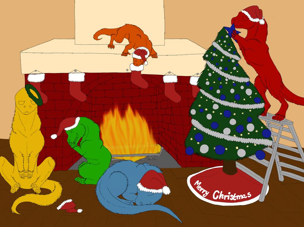 YKH Christmas Edition by RainbowGuppy1