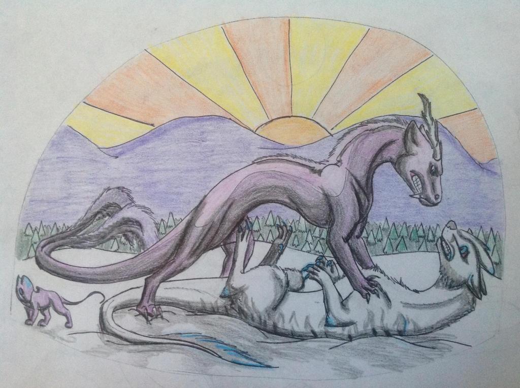 Duel by RainbowGuppy1