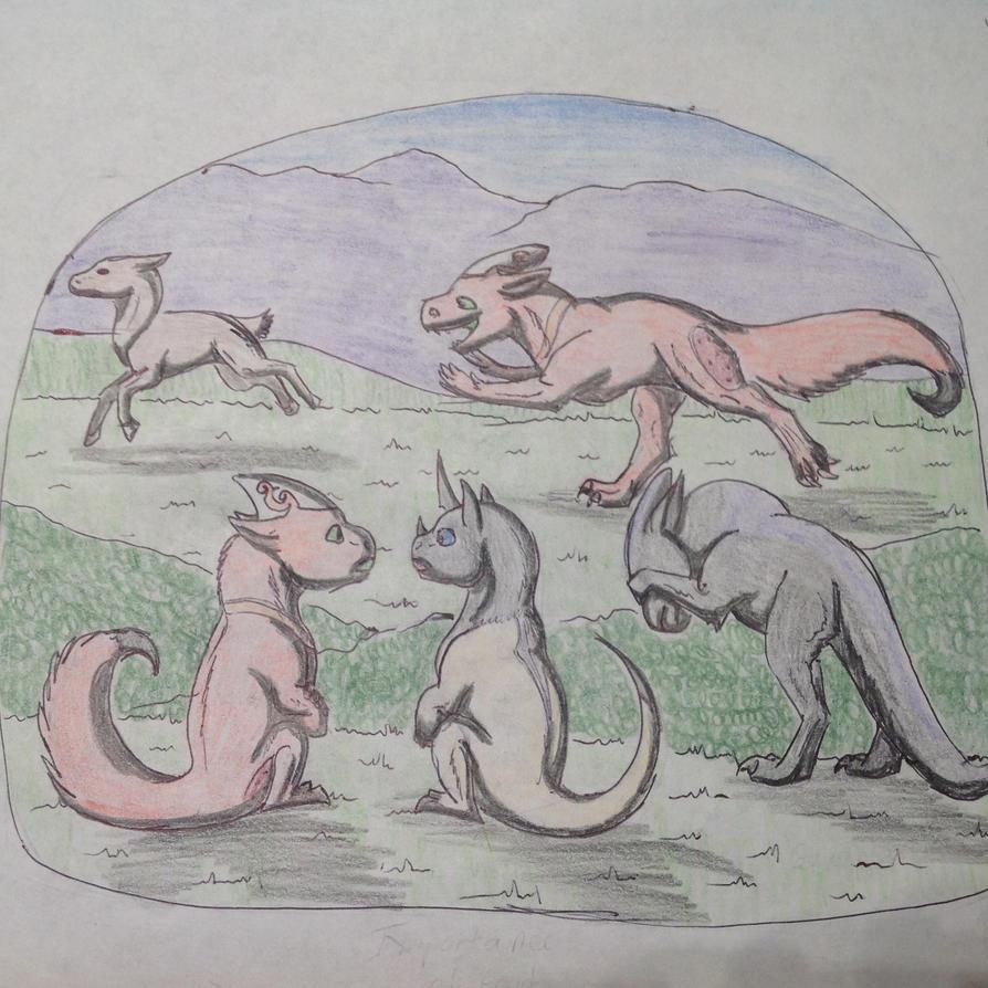 2 Wild BTT 1/3 Ventra, Tenni, and Vitari by RainbowGuppy1