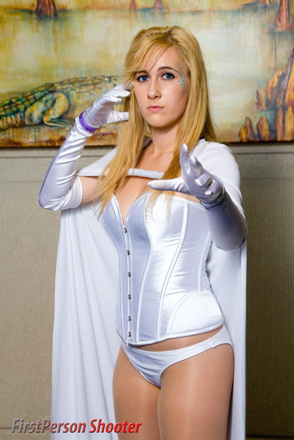 Emma Frost by milk-dr0p