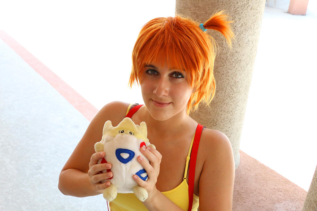 Misty and Togepi by milk-dr0p