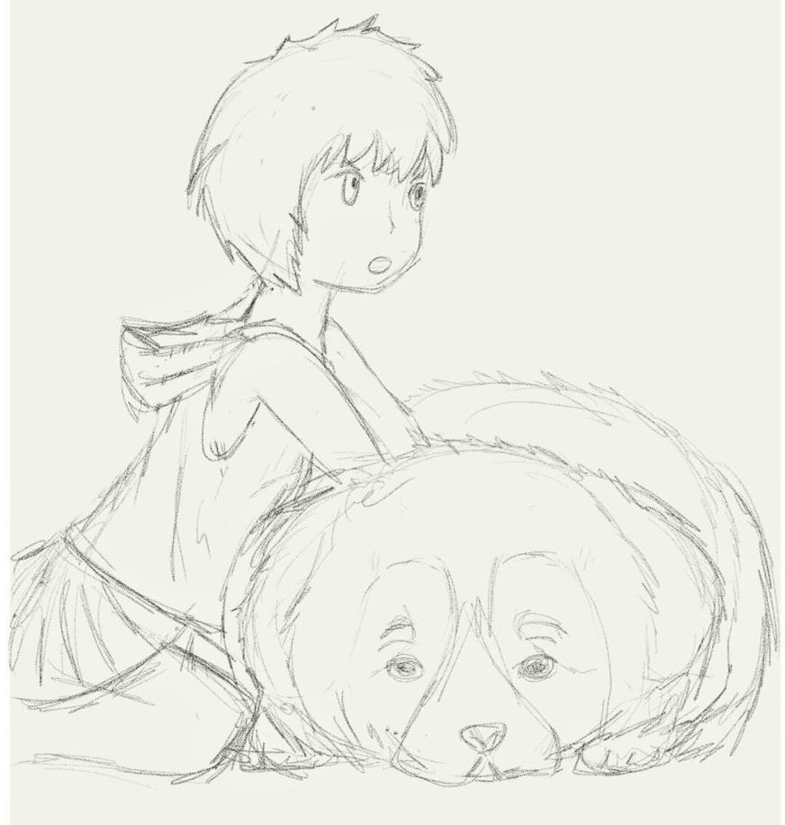 Nel and Trevor Doodle by GiuAto