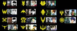Ryuki World Cast