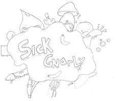 Sick Gnarly Shirt Design 1