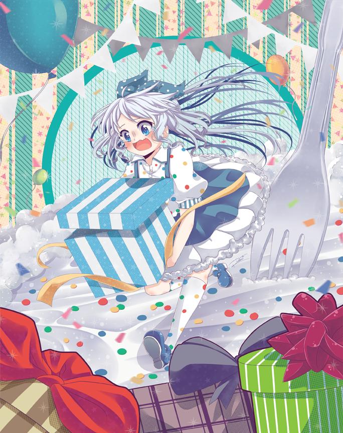 Clumsy Birthday Cake by Rintanu