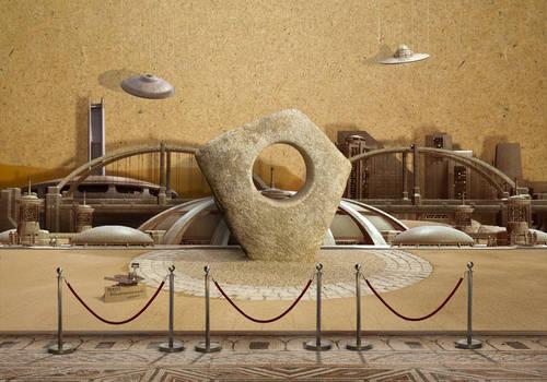 Model - Martian city
