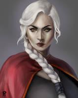 Manon Blackbeak by PaigeAHanlon