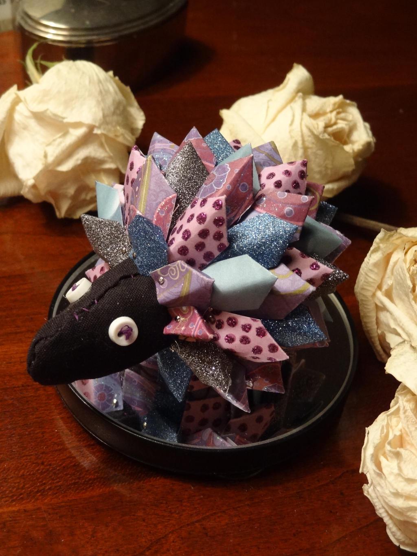 Purple Passion Porcupine by Strobili