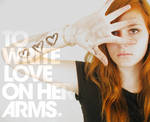 To Write Love On Her Arms I
